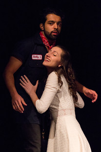 """""""Follow Your Heart"""" - URINETOWN at NYU Steinhardt (April 2019), featuring Jose Contreras as Bobby. Photographed by Hope Fennig."""