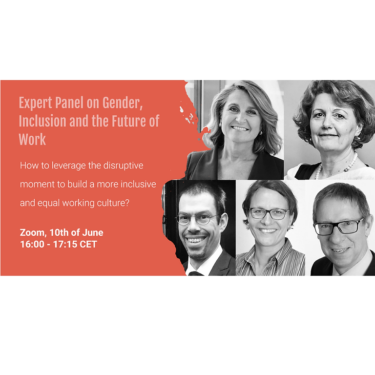 Expert Panel on Gender Inclusion and the Future of Work