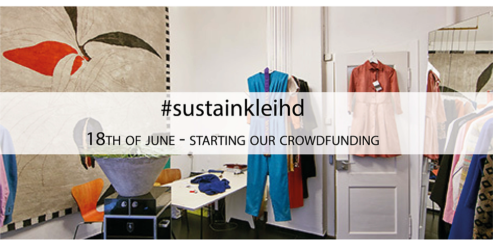 Sharealook Launch Event Crowdfunding Project #sustainkleihd