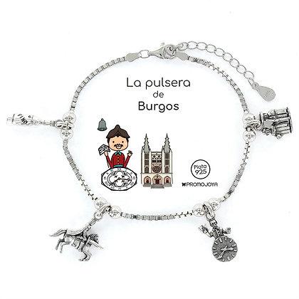 PULSERA DE BURGOS PLATA