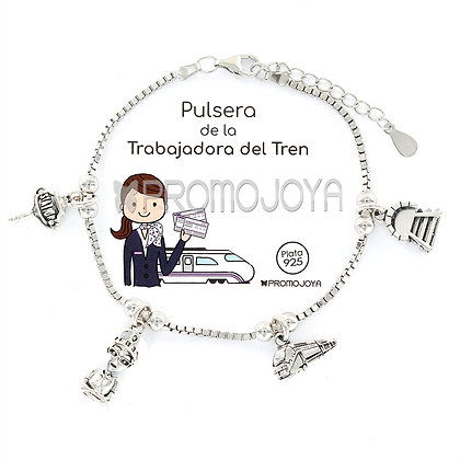 PULSERA DE LA TRABAJADORA DEL TREN