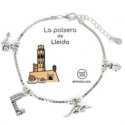 PULSERA DE LLEIDA PLATA