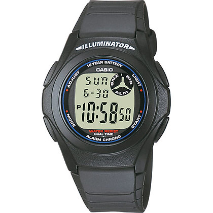 RELOJ CASIO COLLECTION F-200W-1AEF
