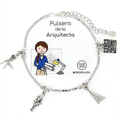 PULSERA DE LA ARQUITECTA PLATA