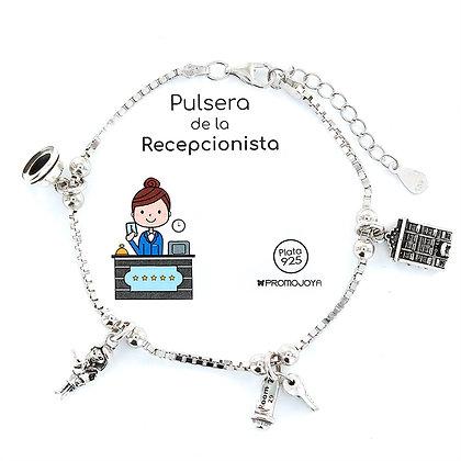 PULSERA DE LA RECEPCIONISTA