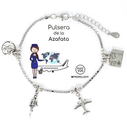 PULSERA DE LA AZAFATA PLATA