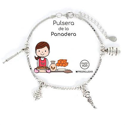 PULSERA DE LA PANADERA PLATA