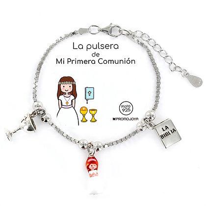 PULSERA DE MI PRIMERA COMUNIÓN PLATA