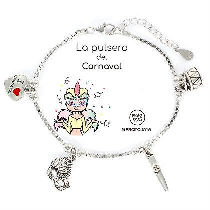 PULSERA DEL CARNAVAL PLATA