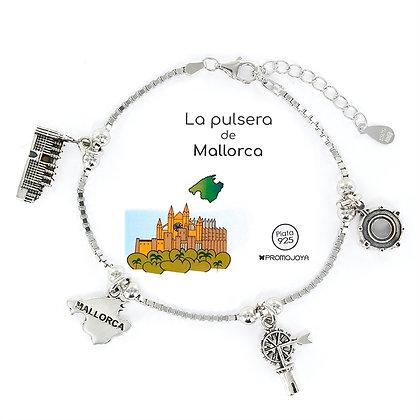 PULSERA DE MALLORCA PLATA