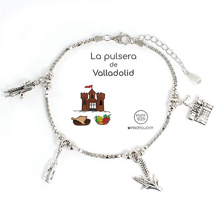 PULSERA DE VALLADOLID PLATA