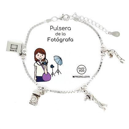PULSERA DE LA FOTÓGRAFA PLATA