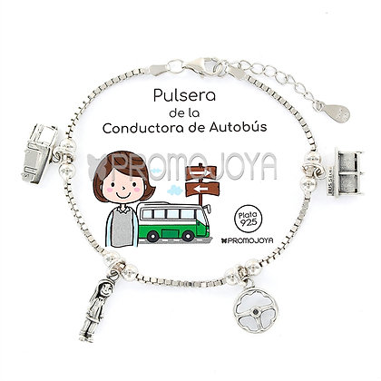 PULSERA DE LA CONDUCTORA DE AUTOBÚS