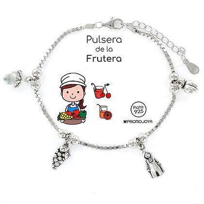 PULSERA DE LA FRUTERA PLATA