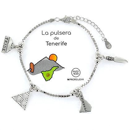 PULSERA DE TENERIFE PLATA