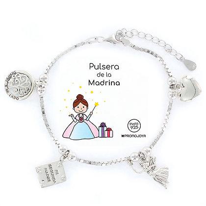 PULSERA DE LA MADRINA PLATA