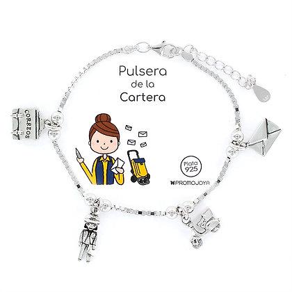 PULSERA DE LA CARTERA PLATA