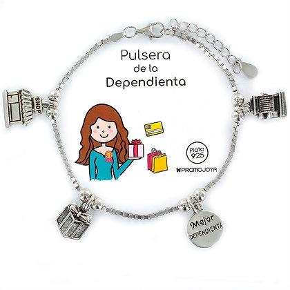 PULSERA DE LA DEPENDIENTA PLATA