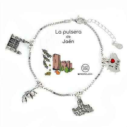 PULSERA DE JAEN PLATA