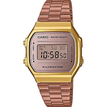 RELOJ CASIO COLLECTION UNISEX A168WECM-5EF