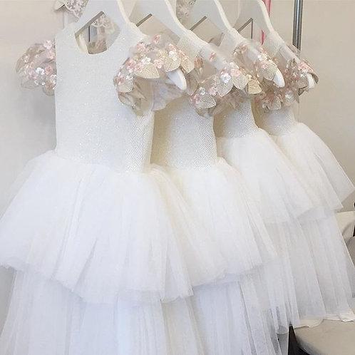Sukienka tiulowa Mgiełka