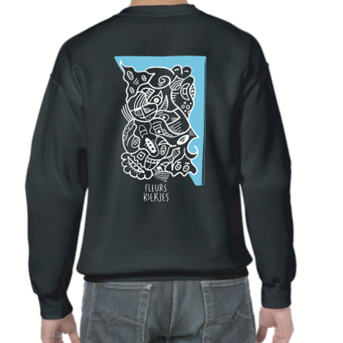 Fleurs Kiekjes x Sea sweater