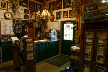 Come visit our pro shop where we carry the finest Mrs. Doe Pee's Buck Lure.