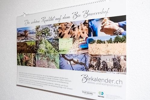 Biokalender + 12 Postkarten