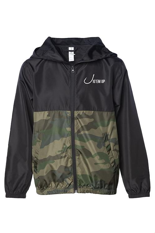 Youth Lightweight Windbreaker Jacket