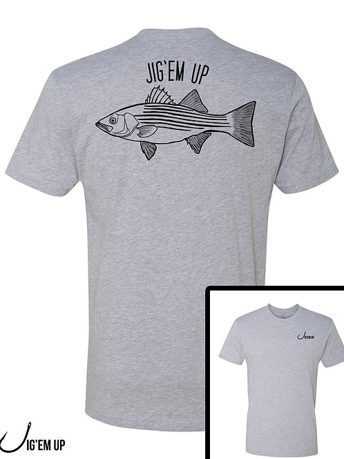 Fish Collection - Striped Bass Tee