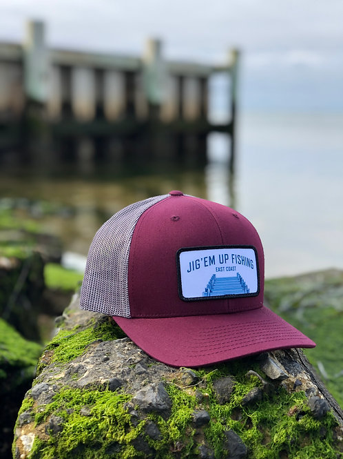 Jig'em Up Dock Trucker Hat