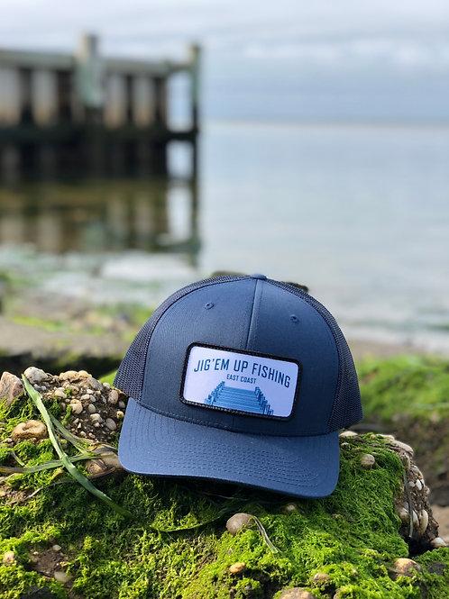 Jig'em up Dock Trucker - Navy Blue