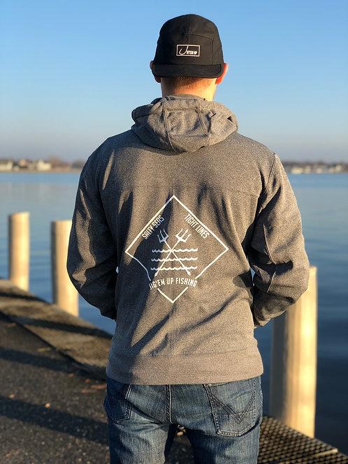 Trident Poly-Tech Zip Hooded Sweatshirt