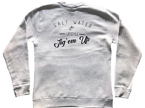 Marlin Salt Water Crewneck Sweatshirt