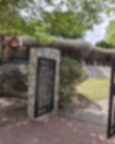 Chamizal National Park Spanish Garden Rock Wall