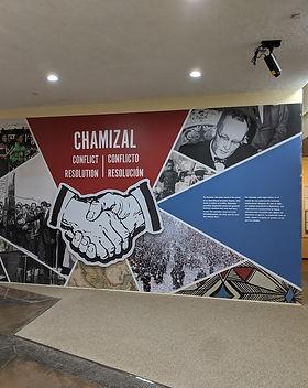Chamizal National Park Inside Wall