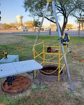 Fort Bliss Aerial Fiber Install