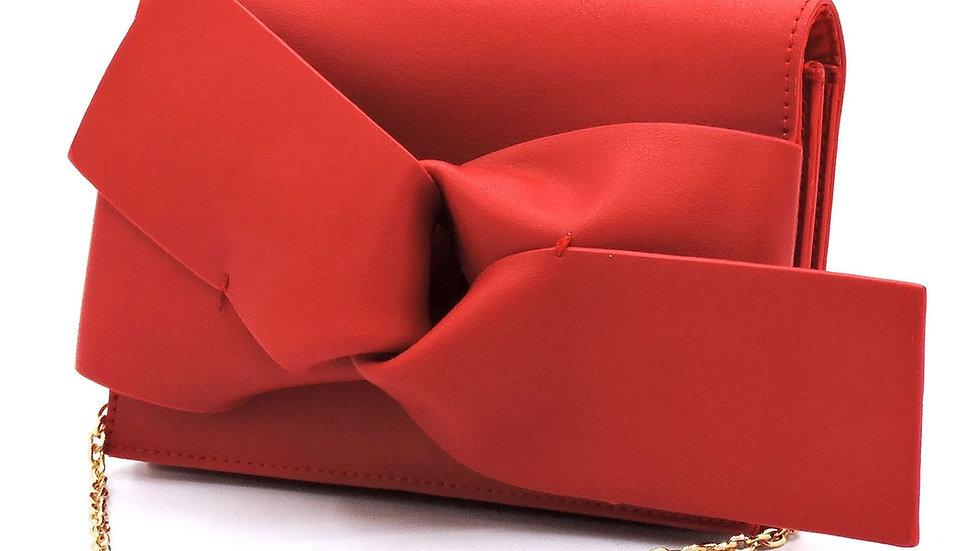 Fashion Bow Bifold Clutch