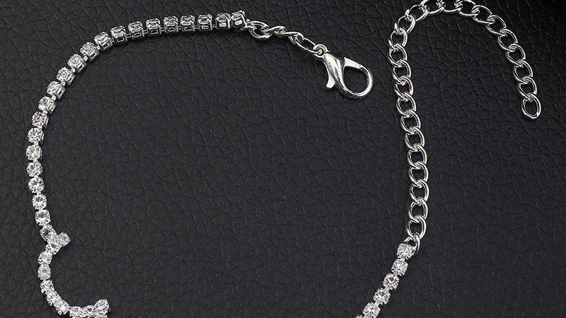Josephine's Rhinestone chain Bracelet