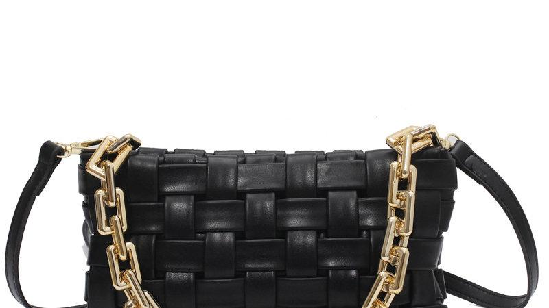 Josephine's Woven Chain Handbag