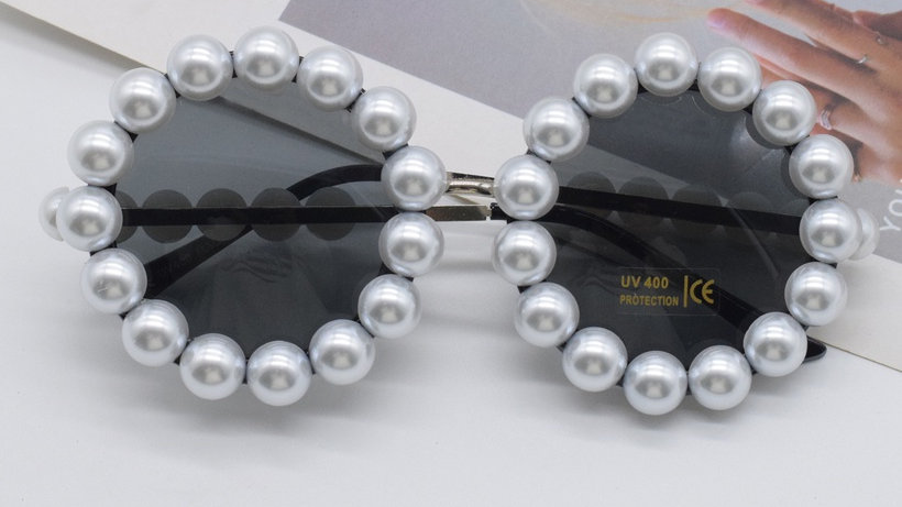 Josephine's Retro Pearl  Sunglasses