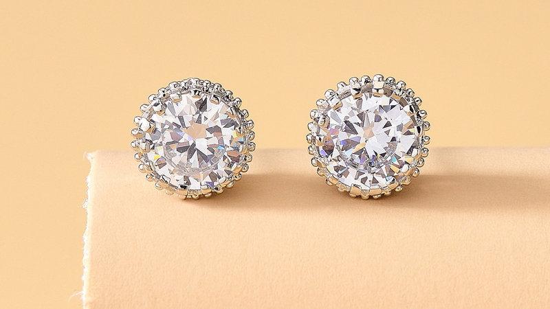 Josephine's Romantic Diamond Studs
