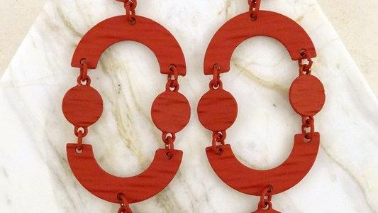 Josephine's Cutout Disc Earrings