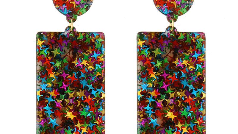 Josephine's Retro Square Earrings