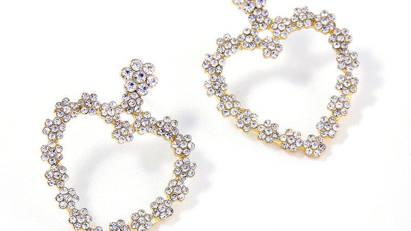 Josephine's Heart Shape earrings