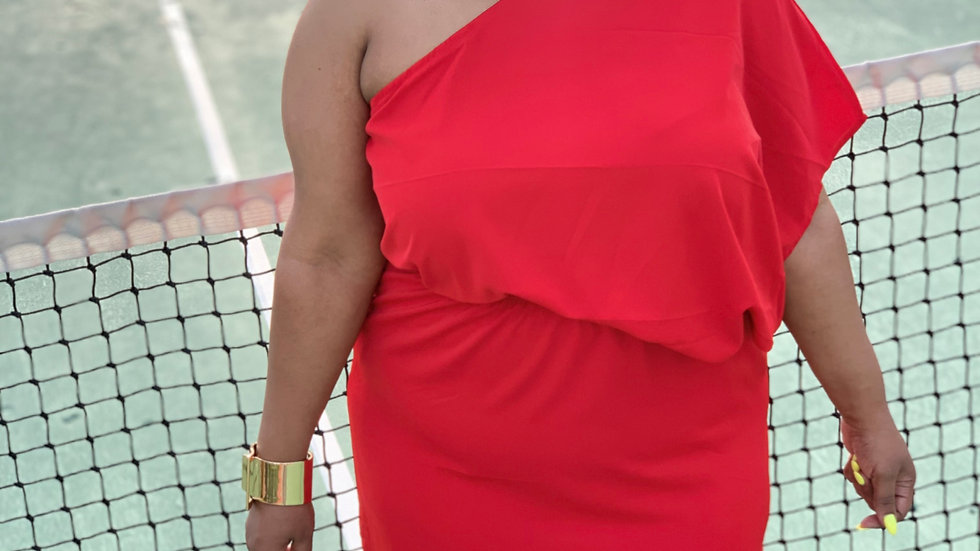 Josephine's Red Carpet Dress