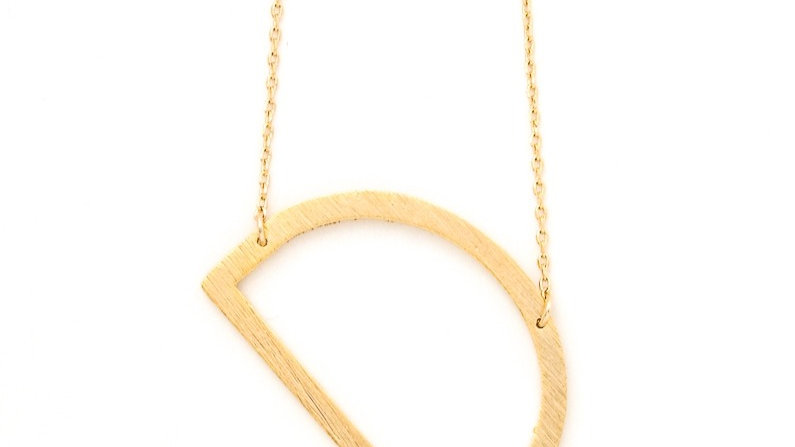 Josephine's Letter Pendant Necklace