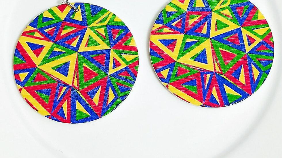 Josephine's Color Burst Earrings