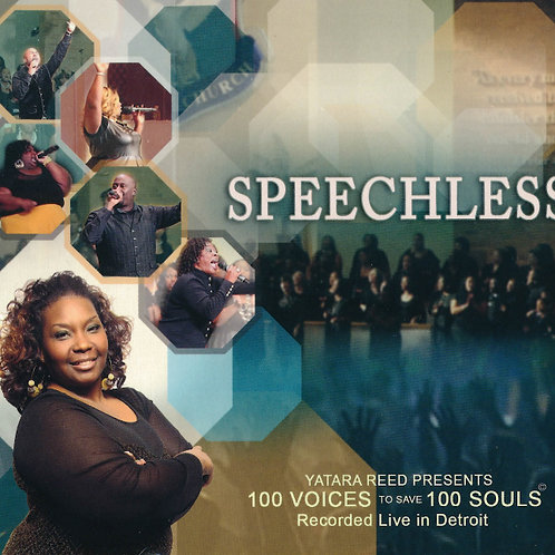 Speechless - CD (Hardcopy)