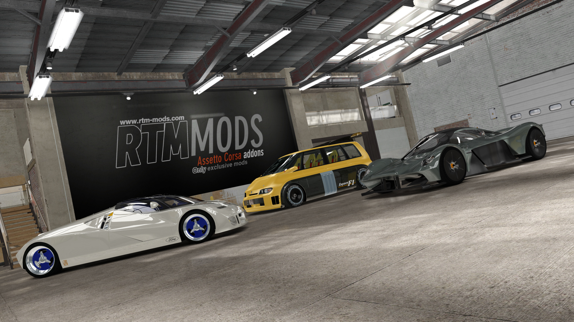 free_showrooms   Assetto Corsa Addons and Mods